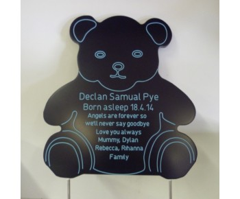 A Teddy Bear 4 sizes in 5 Colours